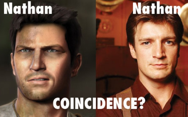 Uncharted Nathan Drake Nathan Fillion