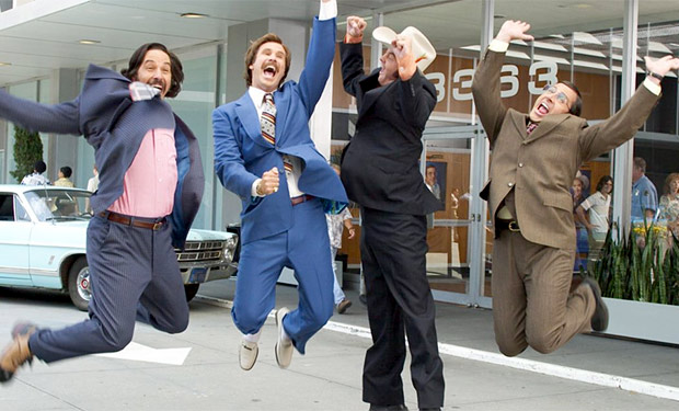 "A scene from ""Anchorman"""