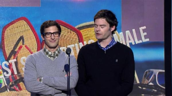 Bill Hader And Andy Samberg 2014 Spirit Awards Ifc