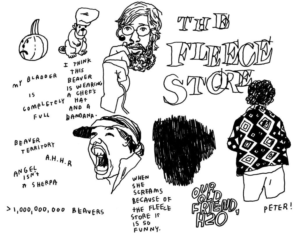 Portlandia - Jason Polan Sketches