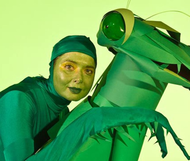Green Porno  C B Praying Mantis