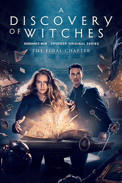 A Discovery Of Witches Streaming : discovery, witches, streaming, Discovery, Witches, Ad-Free, Uncut, SHUDDER