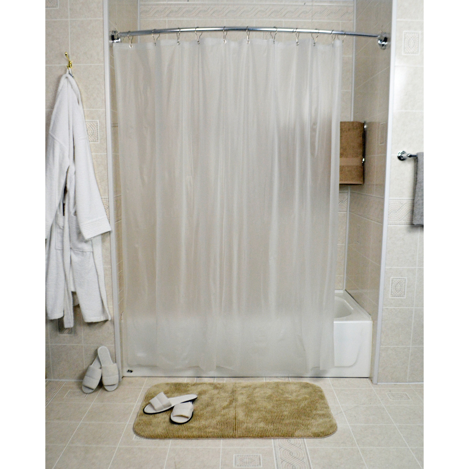 shower curtain liner 72 x 72 frost