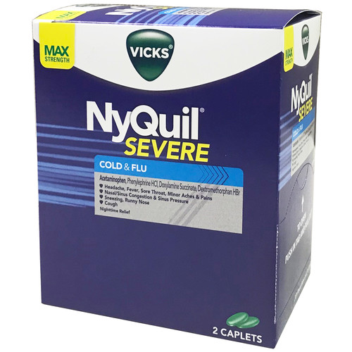 Nyquil Severe Cold & Flu | Cold and Cough Medications ...