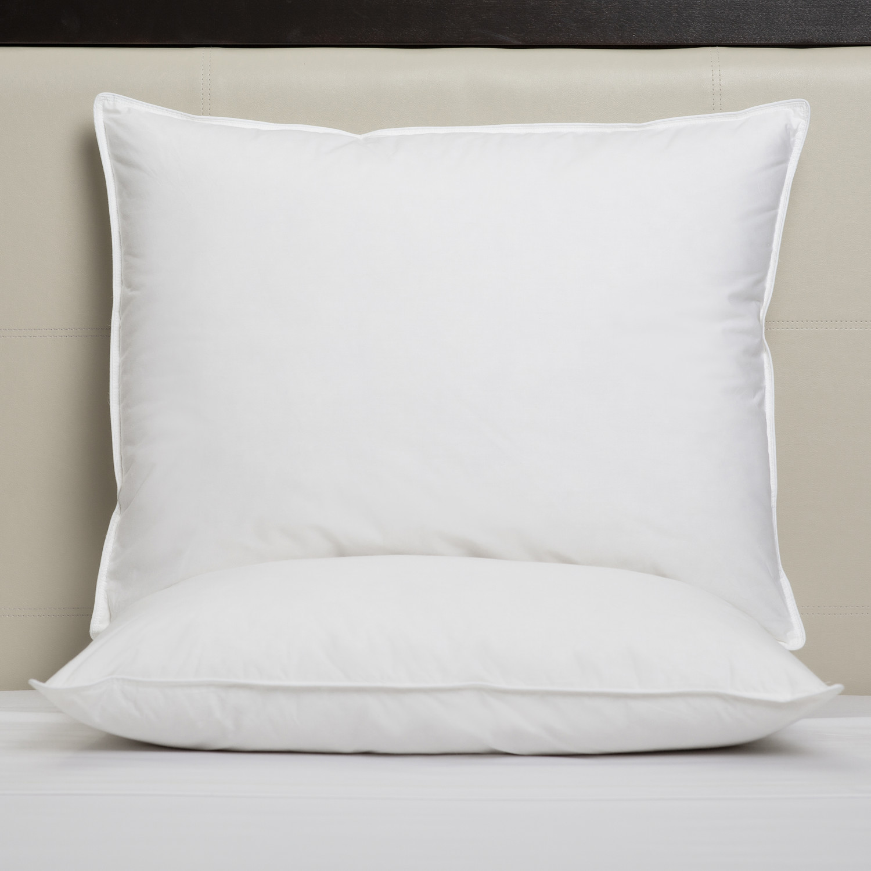 impressence soft down pillow 20 x 36 31 oz