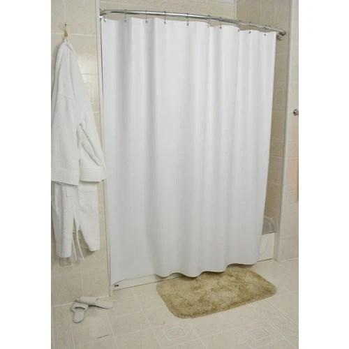sanford shower curtain vinyl white