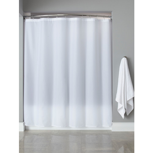 registry nylon shower curtains white 72 x 72
