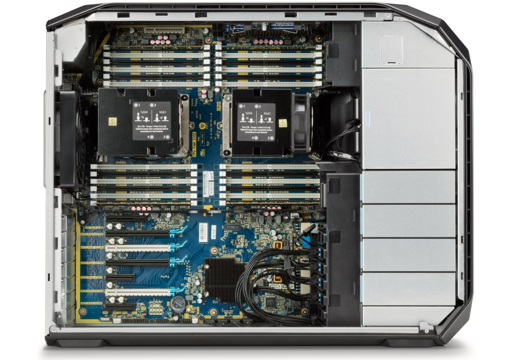 medium resolution of one of the key components of all pcs is its microprocessor when it comes to the hp z8 it is based on up to two intel xeon platinum 8180 with 28 cores