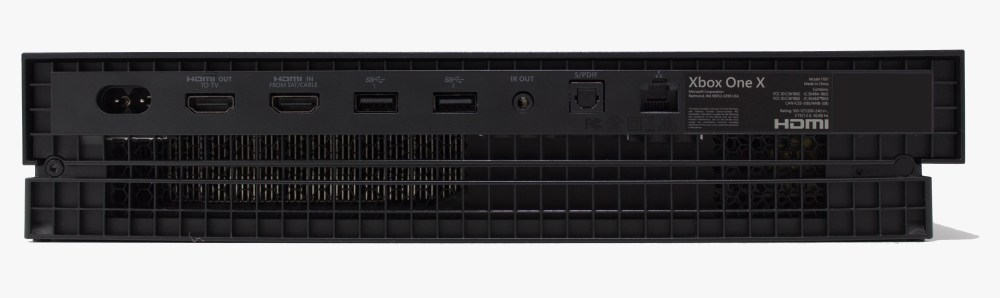 medium resolution of the back features the hdmi input and output ports so microsoft has kept the tv input capabilities intact there s also two usb 3 0 type a ports