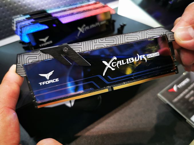 TeamGroup T-Force Xcalibur ARGB DDR4-4000 at Computex