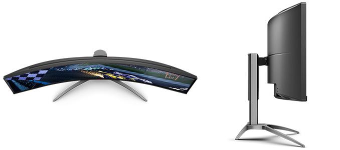 AOCs Agon AG493UCX: A 49-Inch Ultrawide Curved Monitor w/ 120 Hz Refresh & VRR