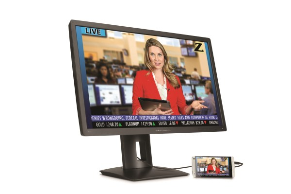 HP 4K Monitor Curved