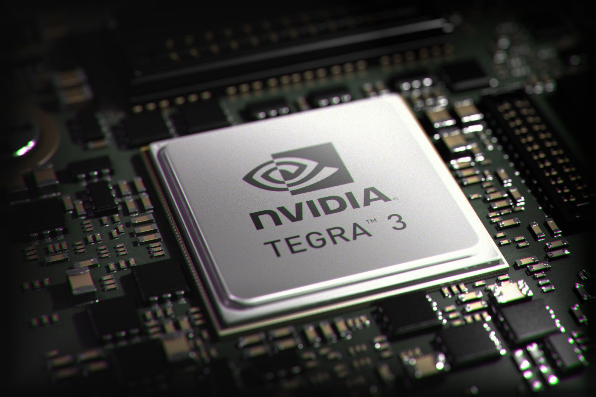 hight resolution of the tegra 3 design is unique in the industry as it is the first to implement four arm cortex a9s onto a chip aimed at the bulk of the high end android
