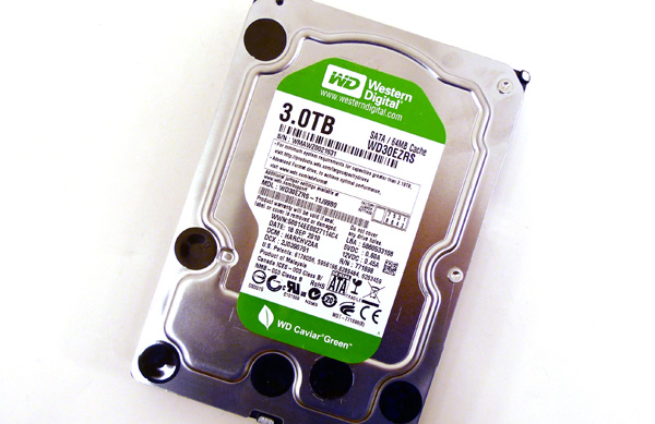 Western Digital Caviar Green 3TB and My Book Essential 3TB
