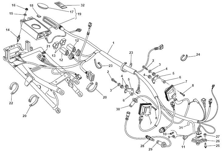 Ducati 748-916-996 Absolute Pressure Sensor