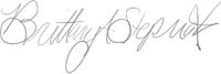 Brittany Stepniak Signature