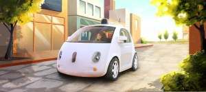 Google self driving pod