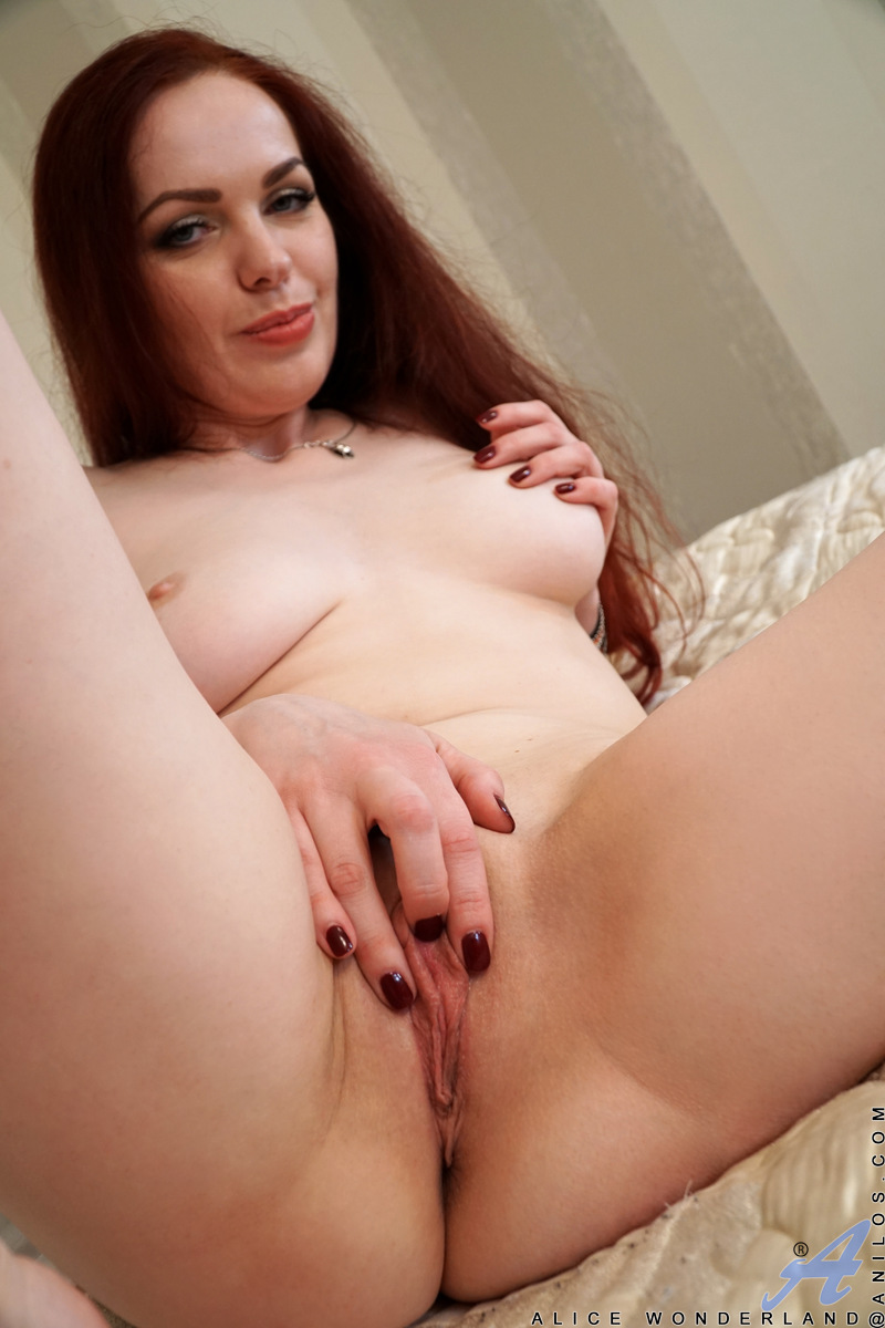 Anilos.com - Alice Wonderland: Red Head Milf