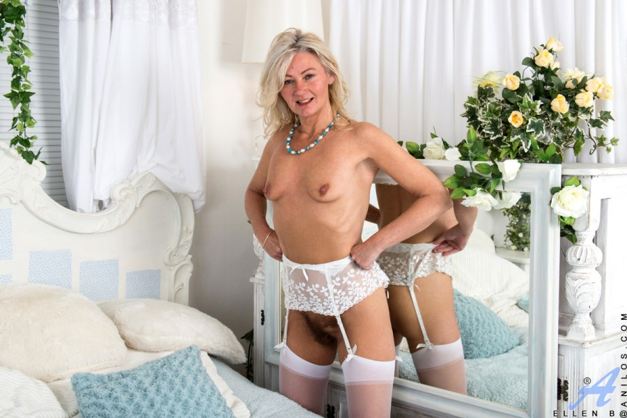 Anilos.com - Ellen B: Hairy Pussy