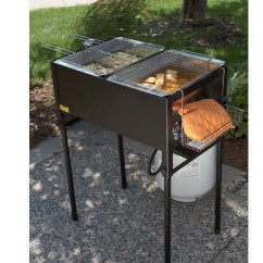 Kitchener Triple Basket Deep Fryer Kitchen Base Cabinet Organizers Pictures Of Different Ducks On Animal Picture Society Fryers Roasters Accessories