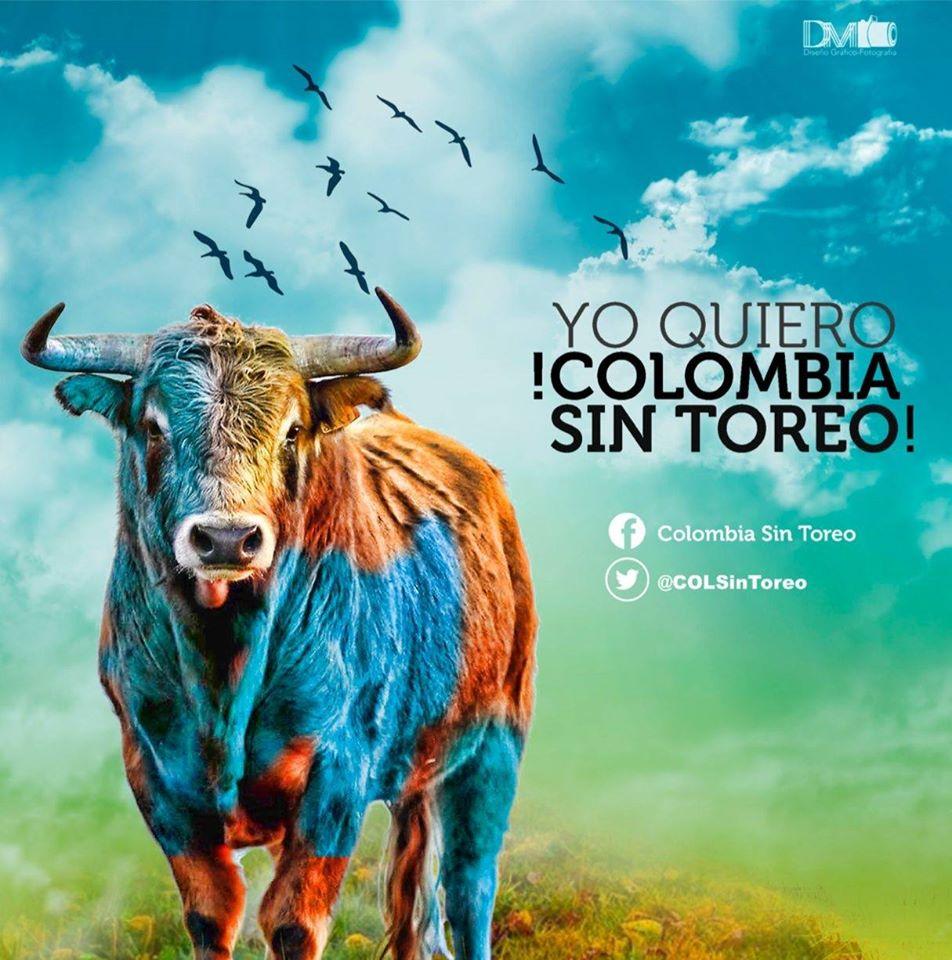 Este domingo participa en la movilización nacional por una Colombia Sin Toreo