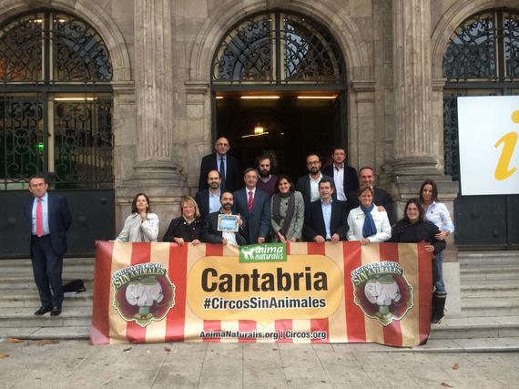 Torrelavega se convierte en la primera ciudad libre de circos con animales en Cantabria