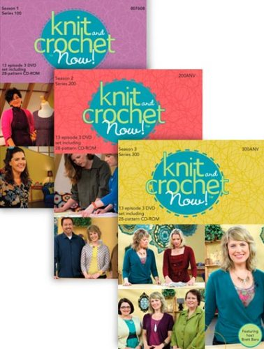 Knit and Crochet Now! DVDs Set - Season 1, 2 & 3
