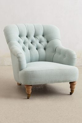 Comfiest Chair Linen Corrigan Chair Anthropologie