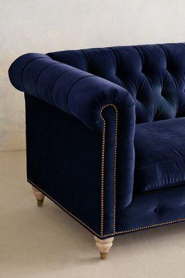 black velvet chesterfield sofa bed 1201 modern leather sectional lyre wilcox anthropologie