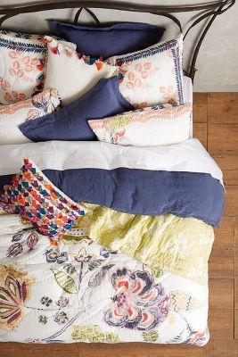 Anthropologie Quilt Bedding