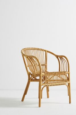 Woven Chair Pari Rattan Chair Anthropologie