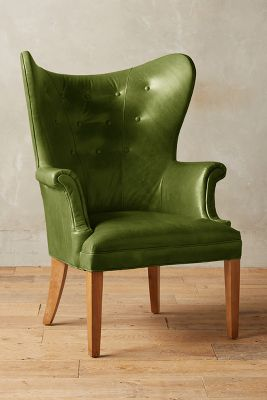 colonial wingback sofas whole room sofa premium leather chair anthropologie