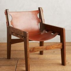 Wood And Leather Chair White Wooden Kitchen Chairs Sling Anthropologie