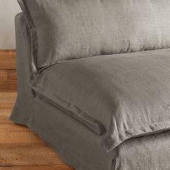 Belgian Linen Sofa Yellow Leather Sofas Uk Tassa Anthropologie