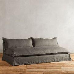 Belgian Linen Sofa Comfy Sleeper Tassa Anthropologie
