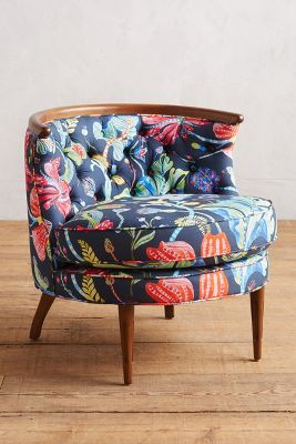 Printed Chair Printed Bixby Chair Anthropologie
