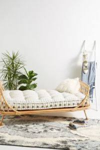 Pari Rattan Daybed | Anthropologie