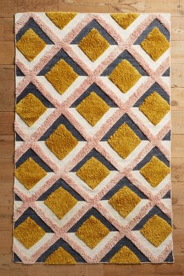 HandTufted Trellis Rug  Anthropologie
