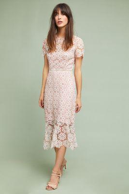 Ambrosina Lace Dress Anthropologie