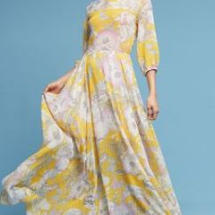 Fall Kitchen Curtains Mobile Charvi Floral Maxi Dress | Anthropologie