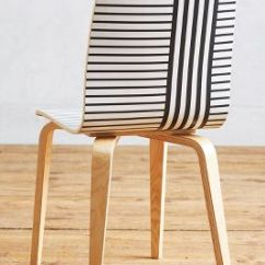 Striped Dining Chair Bruno Lift Tamsin Anthropologie Slide View 2