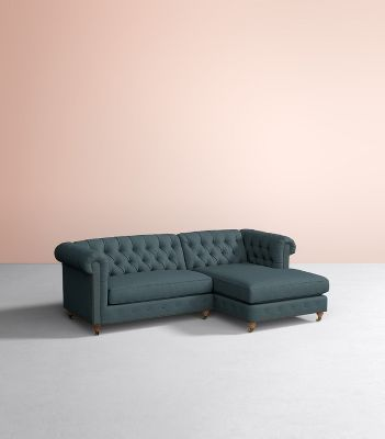 custom sectional sofa leather repairs sectionals sofas couches anthropologie options available lyre chesterfield two piece chaise