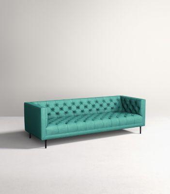 cheap teal sofas plush archer sofa bed price mina anthropologie