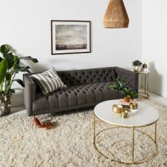 Custom Made Living Room Furniture Armoire Sofas Couches Anthropologie Mina Sofa
