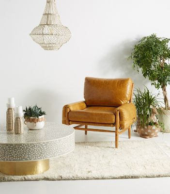 leather couch and chair desk tj maxx furniture sectionals sofas more anthropologie rhys