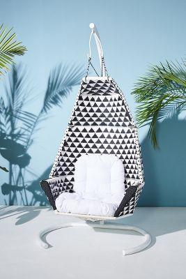 hanging indoor chair minnie high tahiti outdoor anthropologie