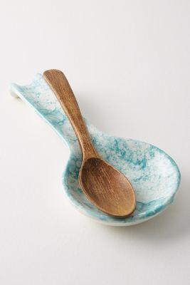 kitchen spoon rest wooden kids glenna anthropologie uk
