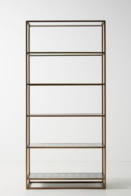 Art Deco Etagere Bookcase Anthropologie