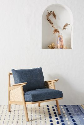 where can i buy cane for chairs fairfield chair company linen anthropologie slide view 1