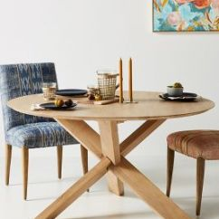 Unique Kitchen Tables Tall Faucet Dining Anthropologie Devon Round Table